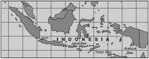 Gambar Peta Indonesia Yang Mudah Di Gambar
