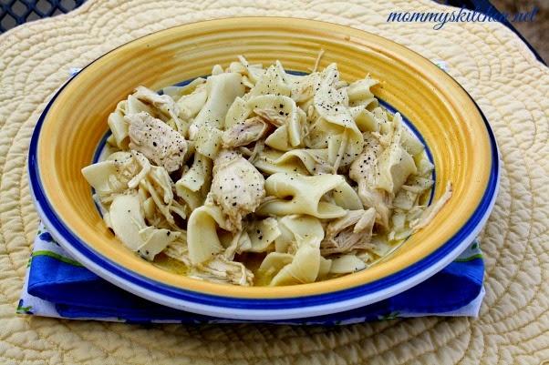Creamy Chicken & Noodles