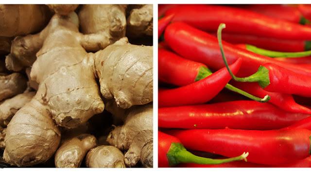 Une étude révèle que le mélange de gingembre et de piment crée une puissante combinaison anticancéreuse