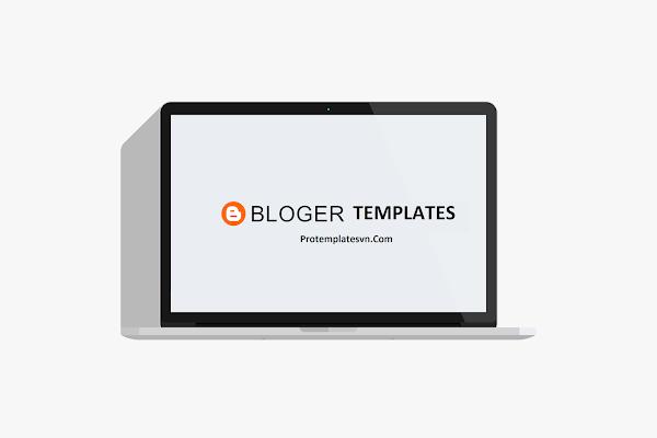 Standard blank blogspot template to design & rip templates
