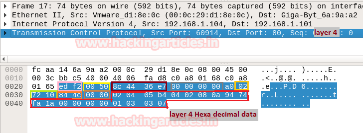 Network Packet Forensic using Wireshark