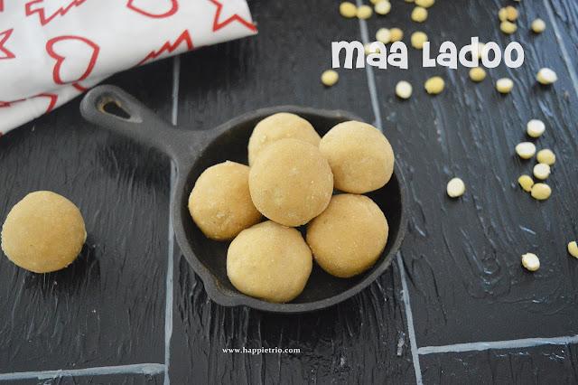 Gram Flour Ladoo /Roasted channa dal Ladoo/Maa Ladoo