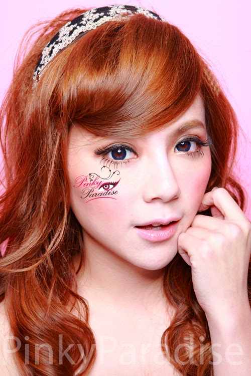 Geo Bella Blue Circle Lenses (Colored Contacts)