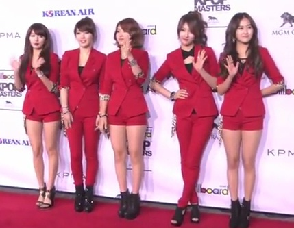 Video Kpop Idols Spotted At The Red Carpet Of Kpop Masters In Las