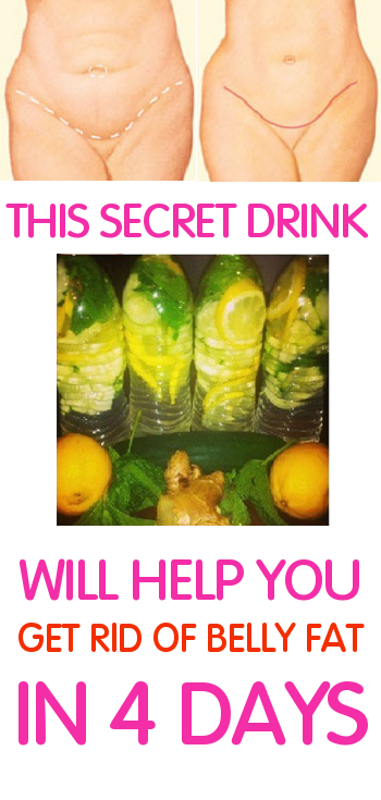 This secret Drink will help you get rid of belly fat in 4 days
