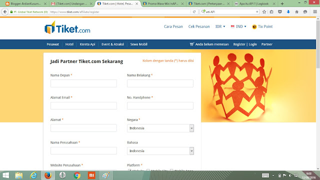 Affiliate Tiket.com #NgopiBarengTiket Jogja Complete Guide To Blog Monetizing