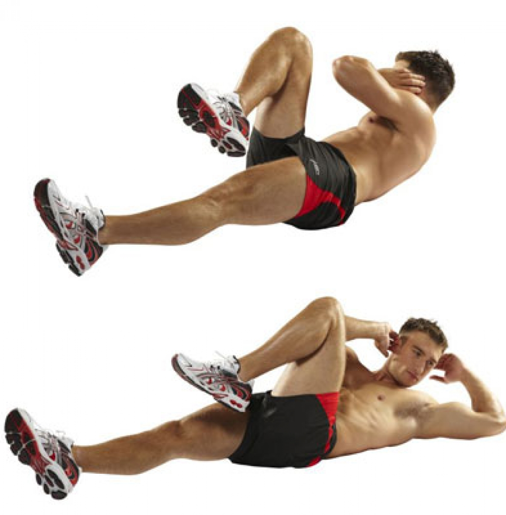 Image result for knee to elbow crunches