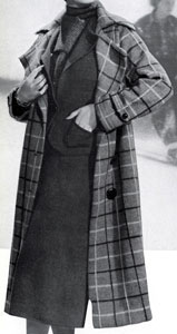 The Vintage Pattern Files: Free 1930's Knitting Pattern - Sports Plaid Coat and Olympic Suit