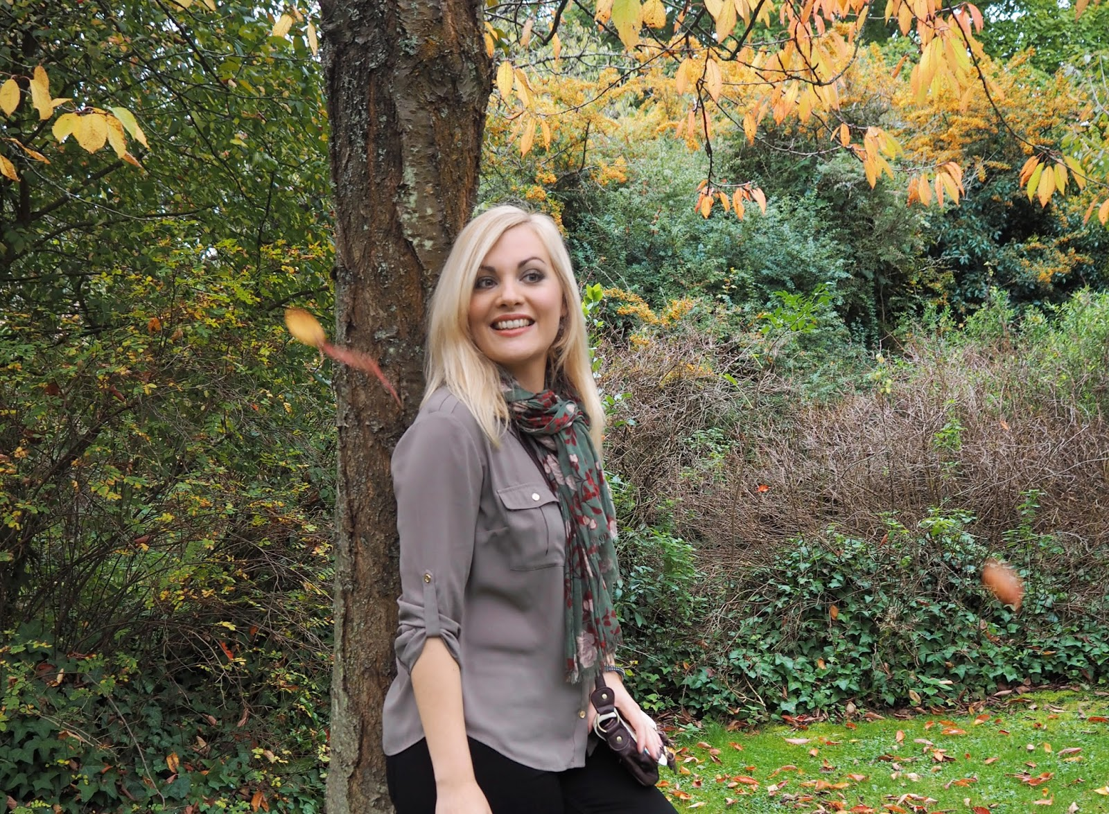 Salute! Autumnal Military Outfit | Katie Kirk Loves