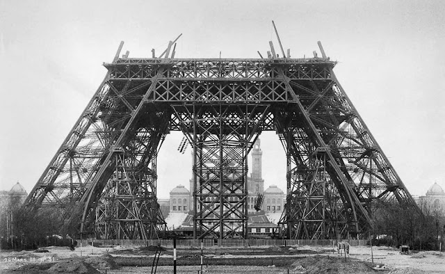 Completion of the first level. March 20, 1888.