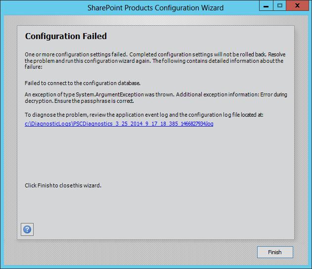 Error during decryption. Ensure the passphrase is correct.