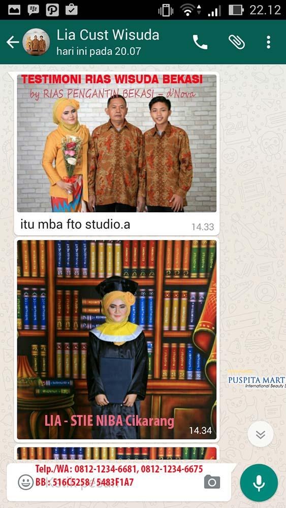 Testimoni MakeUp Rias Wisuda Bekasi Timur by Rias Wisuda Bekasi dNova (2)