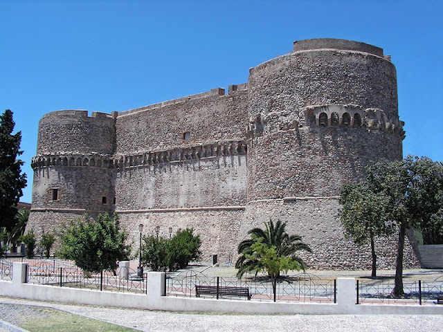 Castelo Aragonês em Reggio Calabria