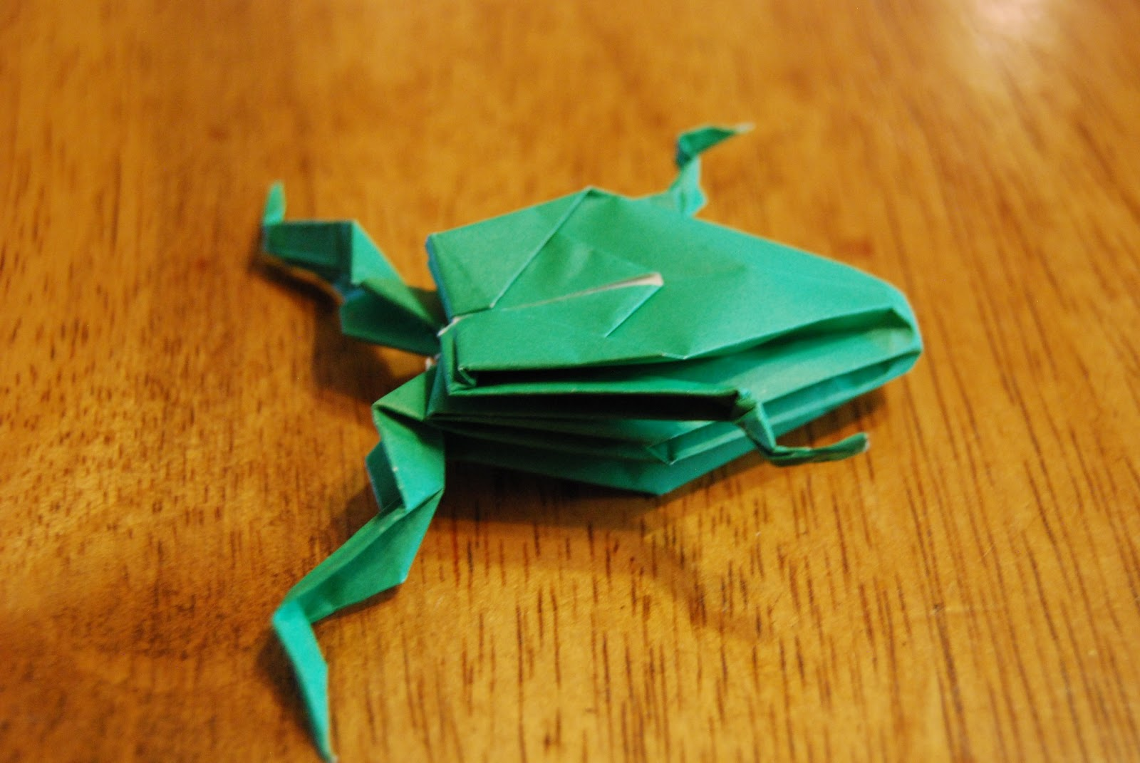 Oragami Inflatable Frog - photo#3