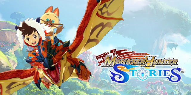 Title cover for Monster Hunter Stories for iPhone.