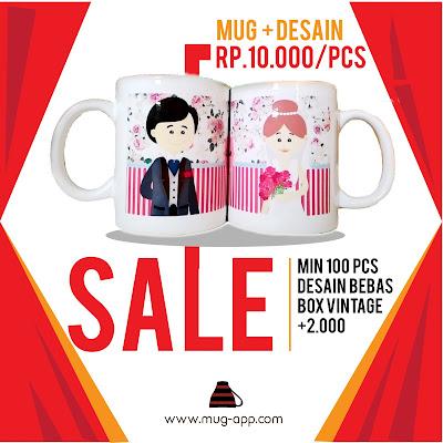 SALE Mug Press + Gambar Rp.10.000/pcs All in