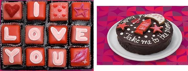dulces para san valentin
