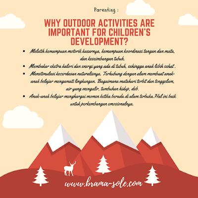 manfaat mengajak anak-anak bermain di alam bebas :