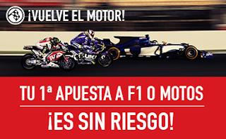 sportium F1 + Motos: Apuesta Sin Riesgo 8 abril