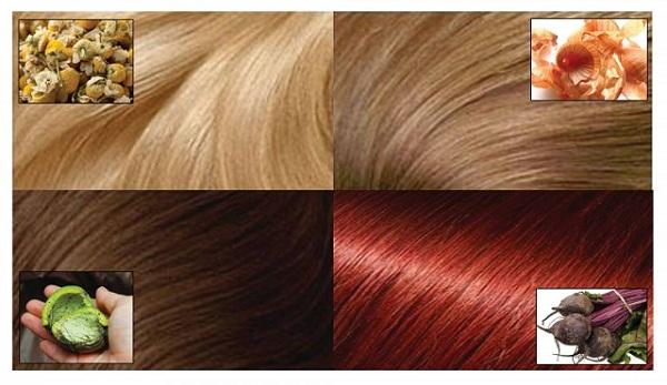 Tinte de cabello natural