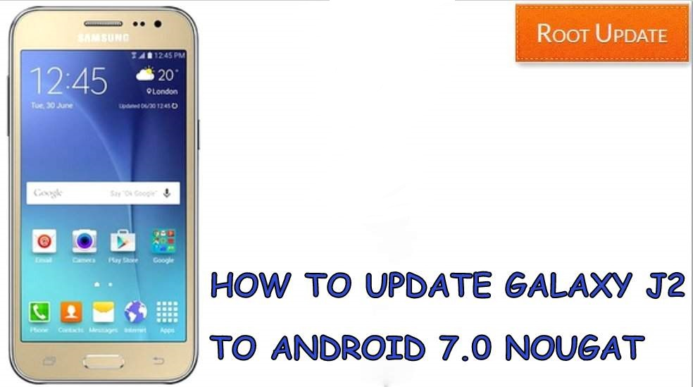 How To Upgrade Samsung Galaxy J2 In Nougat 70
