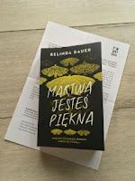 """egzemplarz recenzencki """"Martwa jesteś piękna"""" Belinda Bauer, fot. by paratexterka ©"""