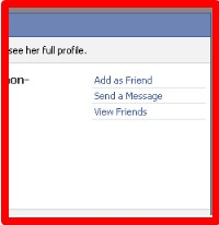 how to view facebook profiles private