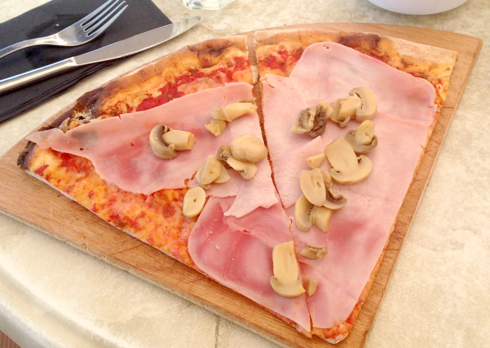 Pizza in Ibiza Town