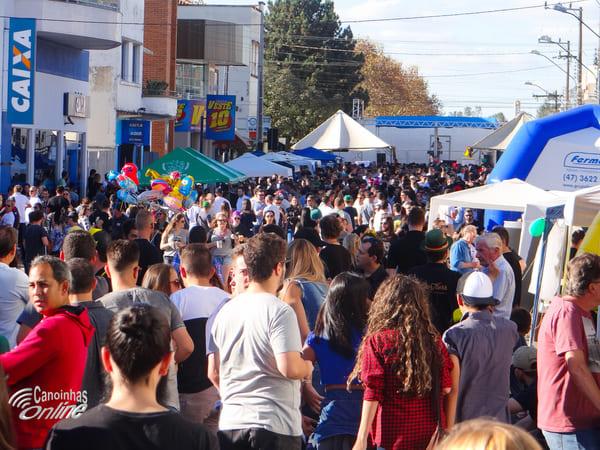 1º Stammtisch reuniu grande público em Canoinhas