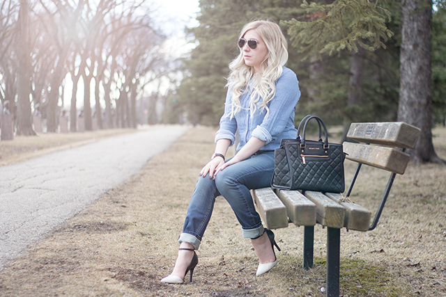 How to find the perfect jeans for your body + an all denim spring outfit inspiration look!