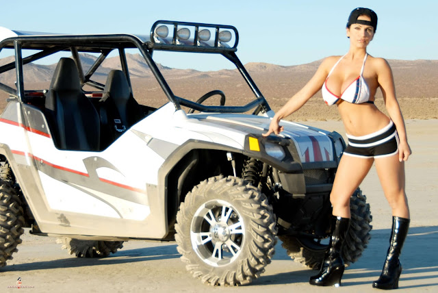 Denise Milani ATV hot and sexy Photoshoot picture 21