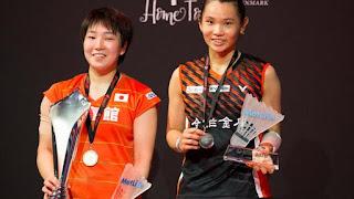 BÁDMINTON - Akane Yamaguchi se deshace de la campeona olímpica en semis y gana el SuperSeries de Dinamarca. Saensomboonsuk campeón masculino