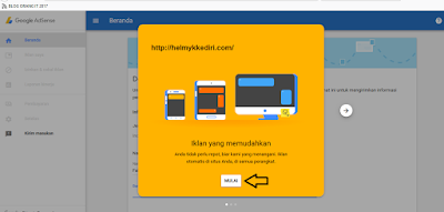Cara mendaftarkan blog kegoogle adsense 7