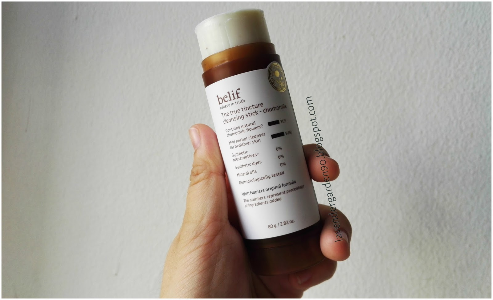 The True Tincture Cleansing Stick - Chamomile by belif #7