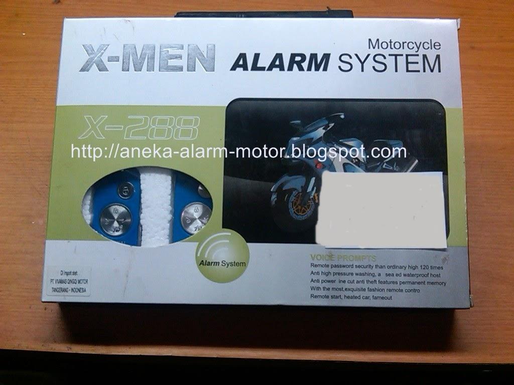 ALARM MOTOR X-MEN
