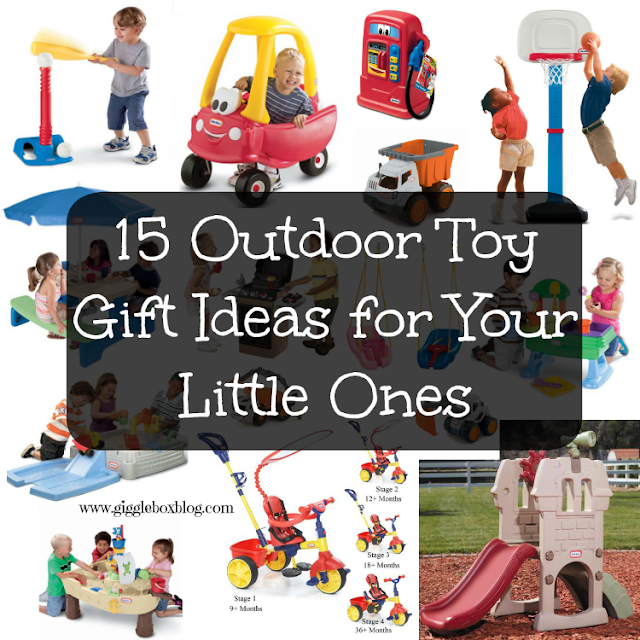 list of outdoor toys for little ones, outdoor toy gift ideas for little ones,