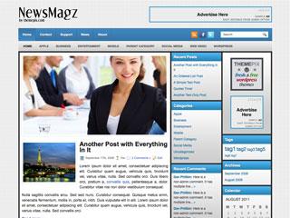 NewsMagz Free WordPress Theme
