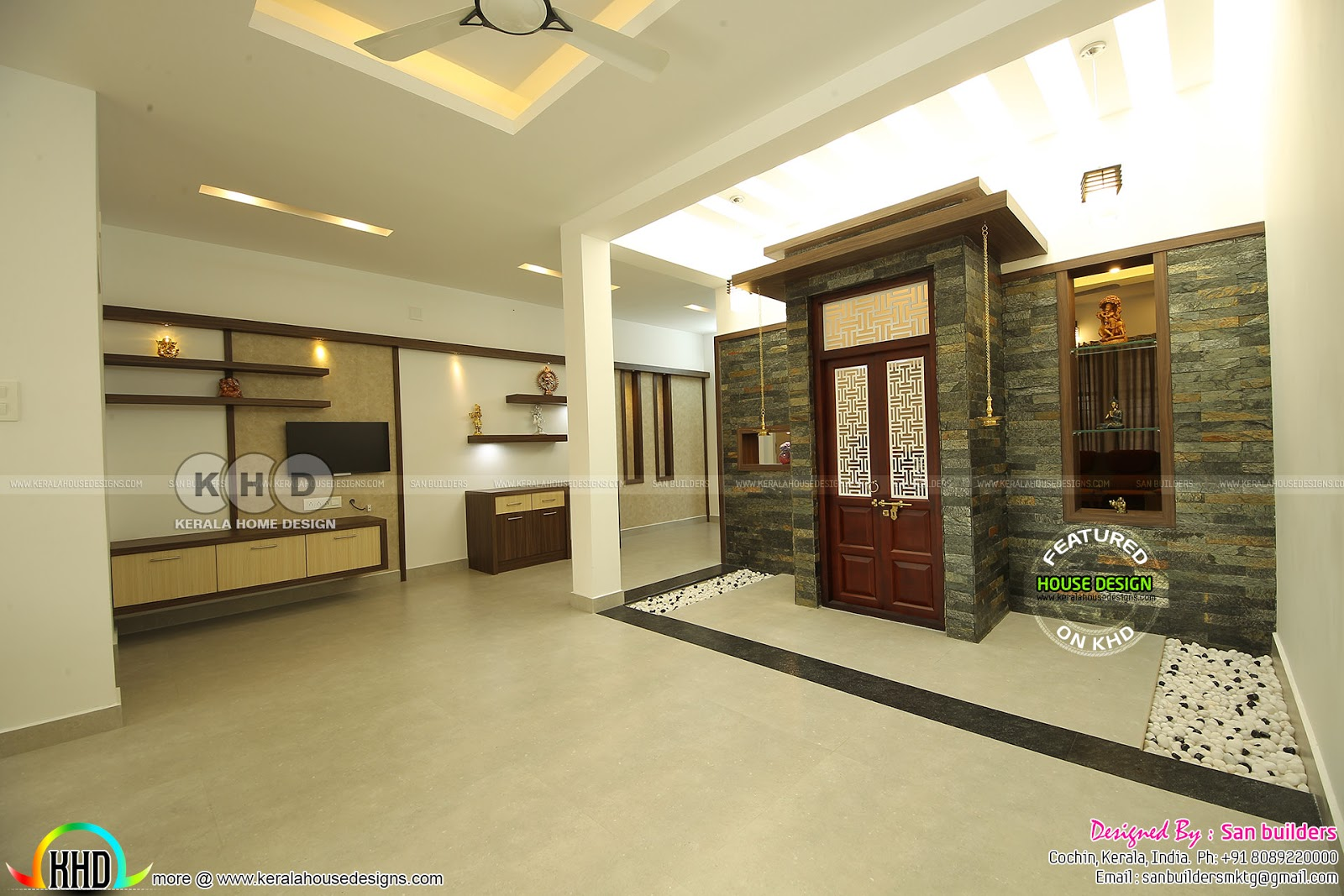 Furnished Single Floor Kerala Home Design 1616 Sq Ft