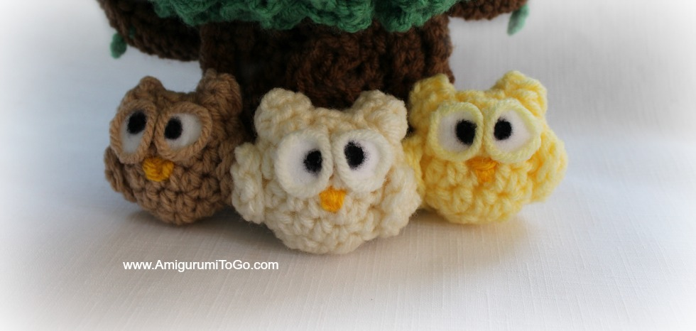 Nugget the Lil Owl ~ Amigurumi To Go