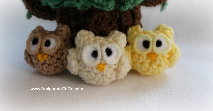 Tiny Amigurumi Patterns Free : Nugget the Lil Owl ~ Amigurumi To Go