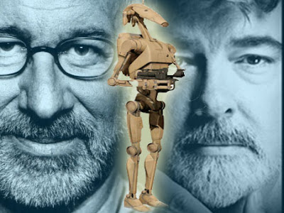 steven spielberg battle droid