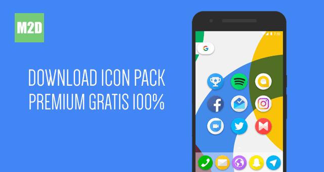 icon pack yaitu kumpulan atau paket ikon yang biasa dipakai untuk mengubah ikon bawaan Download Icon Pack Android Premium Gratis Diskon 100% [Terbatas]