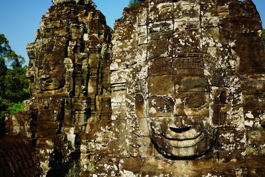 Bayon temple, ancient Angkor