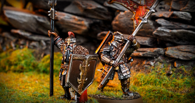 Forge World The Hobbit Battle Of The Five Armies Iron Hill Dwarf Command