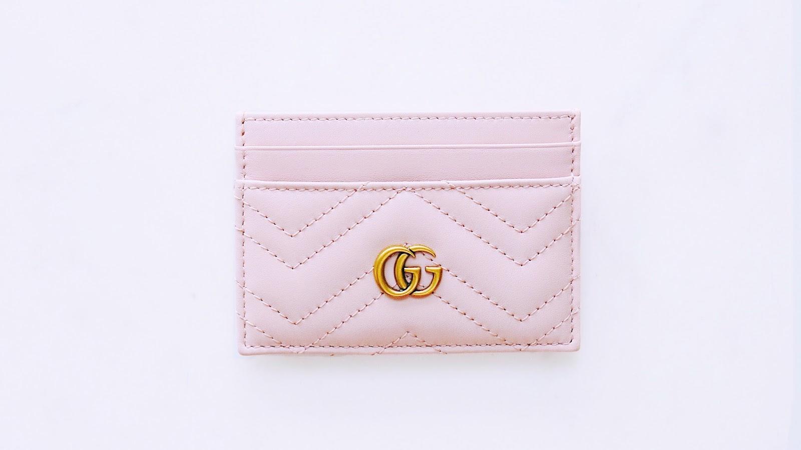 innovative design 619e6 2b079 Gucci GG Marmont Card Holder