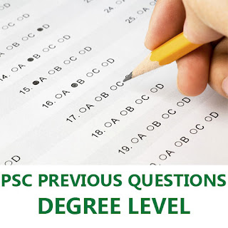 PSC Previous Years Degree Level Questions
