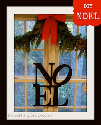 "PB Inspired ""Noel"" Sign (DIY)"