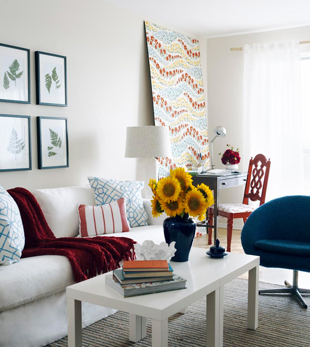 Chic And Colorful Living Room Decor For Spring: TRENDSUM: Orta Sehpa Dekoru