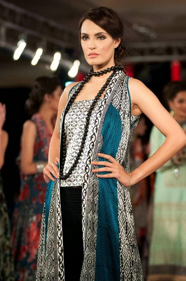 Gul Ahmed Collection At Islamabad Fashion Week 2013
