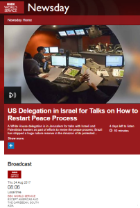 38b5478a6c ... activist intent on persuading BBC audiences that the main – if not sole  – factor of any importance in the Palestinian-Israeli conflict is  'settlements'.